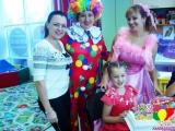 В гостях у Клоуна (клоун и фея)